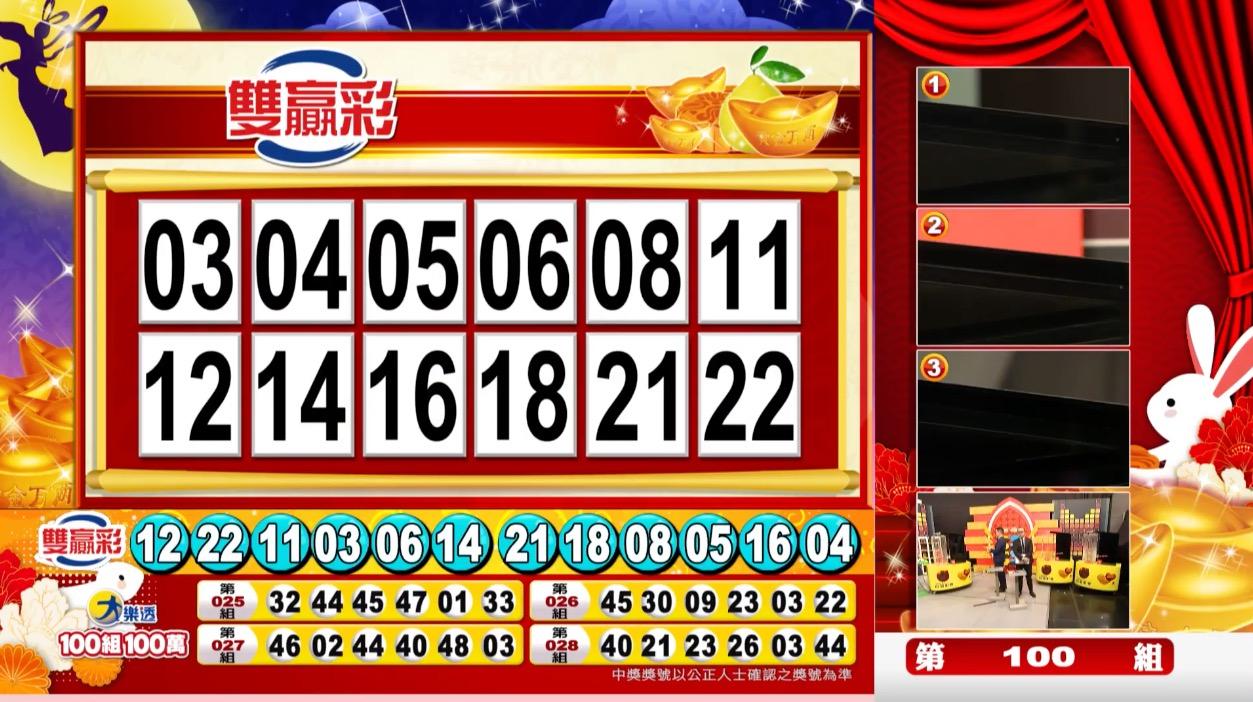 雙贏彩中獎號碼》第109000222期 民國109年9月15日 《#雙贏彩 #樂透彩開獎號碼》